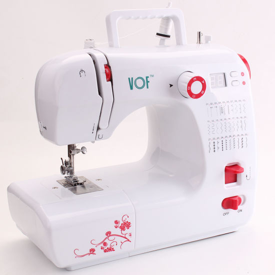 Vof Household Mini Embroidery Tailor Sewing Machine for Kids Fhsm-702
