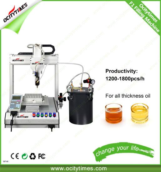 Ocitytimes Wholesale Price F1 Cbd Oil Vaporizer Filling Machine
