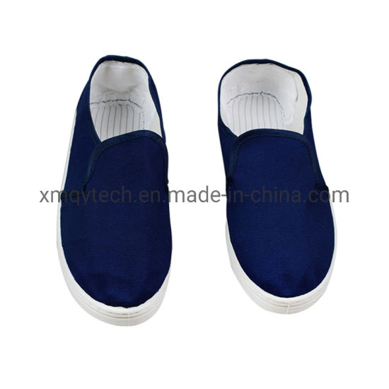 Customized White ESD Canvas Shoes