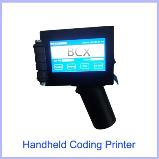 Handheld Inkjet Printer for Box Date Number Logo Printing pictures & photos