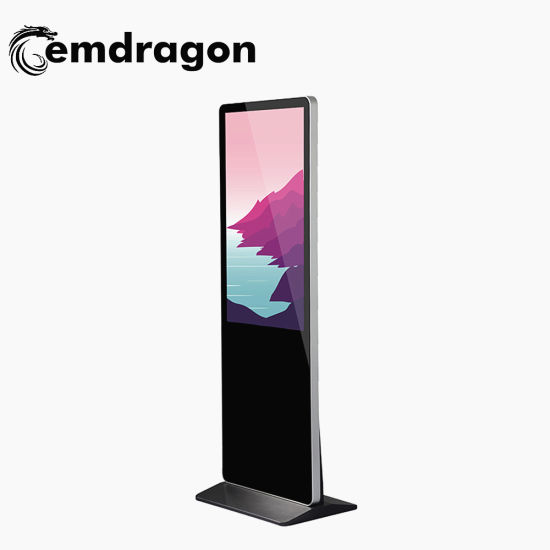 Advertising Media Player 32 Inch Advertising Gift Sex MP4 Video Advertising Digital Photo Display with Ultra Thin Floor Stand