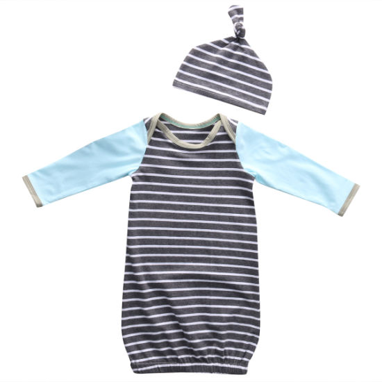 OEM Service Baby Wear Customized Size Kids Clothes Gown