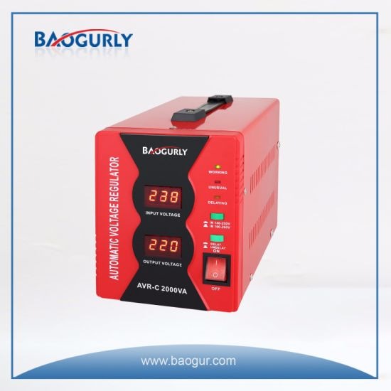220V Digital 1500va Electronic Automatic Voltage Stabilizer