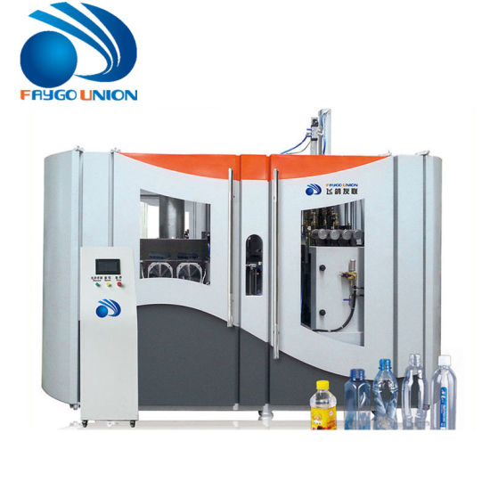 Automatic Extrusion 1 Liter Pet Plastic Water Bottle Blow Molding / Moulding Making Machine