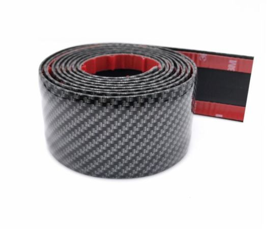 Carbon Fiber Look Car Door Plate Sill Scuff Cover Sticker Panel Protector pictures & photos