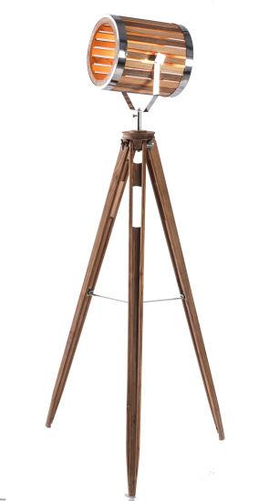 Large Wooden Tripod Floor Lamp Furniture/Lighting/LED Lighting /Lamp/Decoration/ LED/Bulb/Tripod/