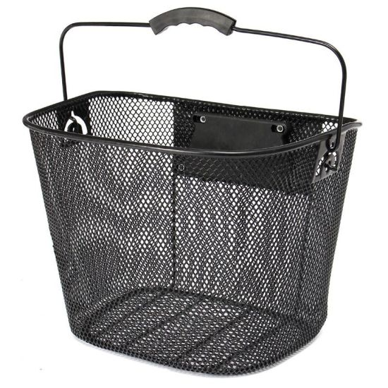 Bicycle Accessories Steel Bike Basket Fitted on Handlebar (HBK-132)