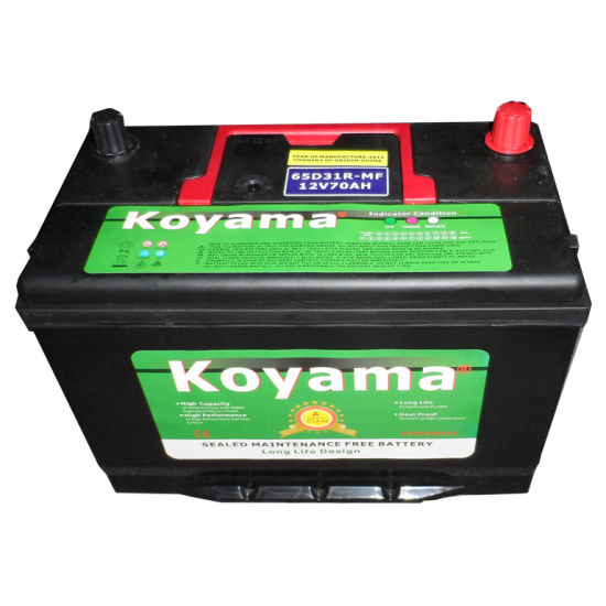 N70mf JIS Sealed Lead Acid Batteries 65D31r Free Maintenance Battery pictures & photos