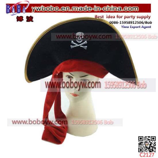 Carnival Pirate Skull Halloween Party Hat Party Supply (C2127)