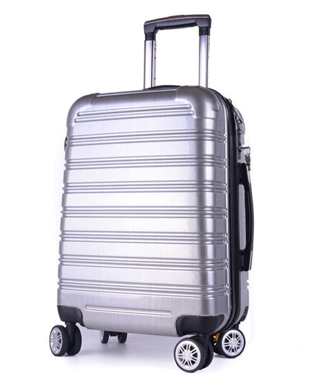 New Design Suitcase, Good Quality Built-in Tsa Lock PC Luggage (XHP111)