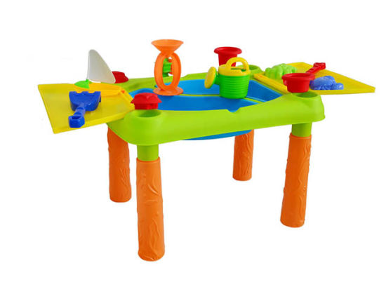Good Selling Plastic Toys Sand and Water Play Table Super Summer Toys H1404248