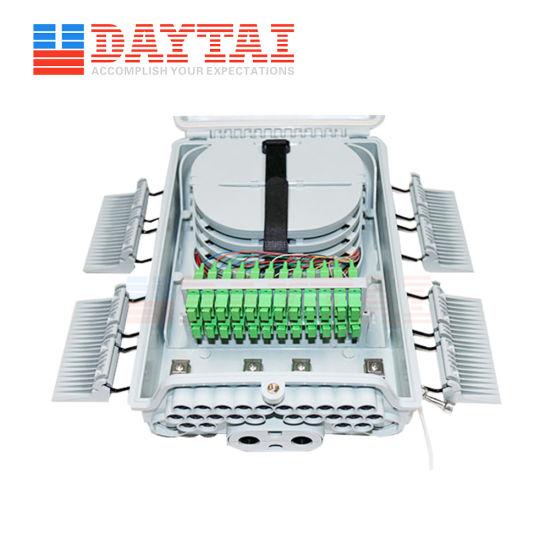 2 Inlet Outlet+24 Core Outlet Nap Fiber Optic Distribution Box