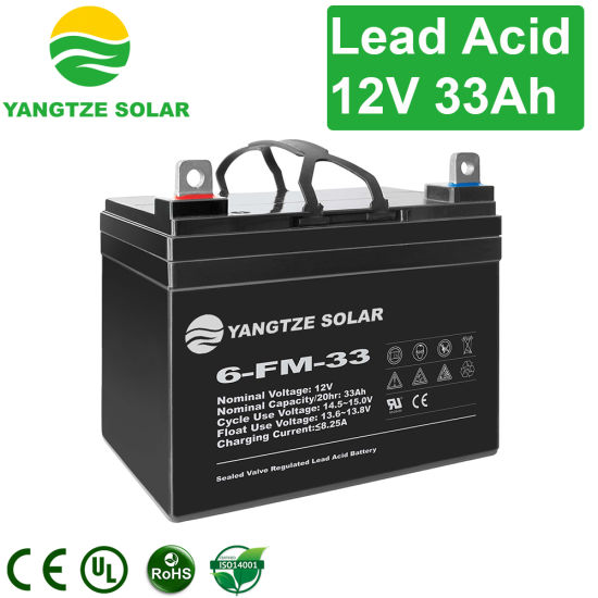 Yangtze 4 12V 48V 33ah 35ah Lead Acid Battery