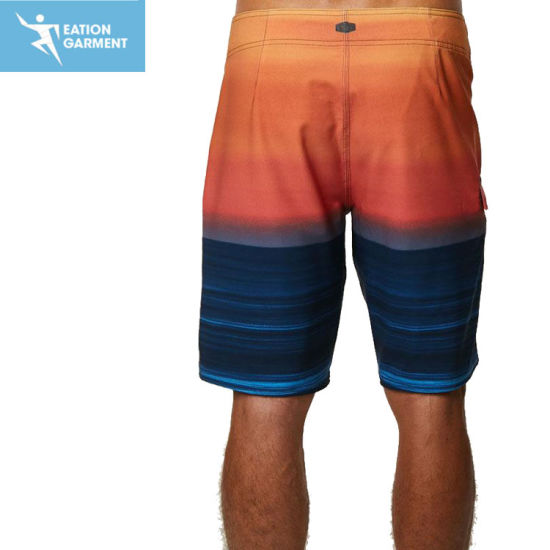 322fe67fb OEM 100 Polyester Sublimation Beach Swim Shorts Men Swimwear Wholesale