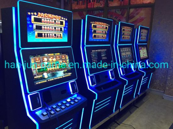 Poker Video Game Casino Slots Machine for Indoor Playground