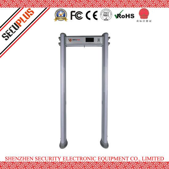 Security Detective Gate Entrance Classic Elliptical Walk-through metal detector Gate