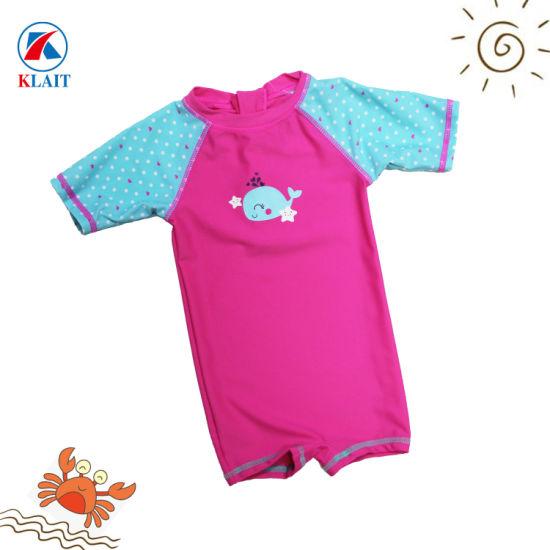 220603cecb3 China Custom Print Cartoon Dolphin One Piece Children Swimsuit ...