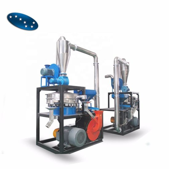 Plastic Powder Making Machine for PE PP PVC Pet LLDPE Grinder