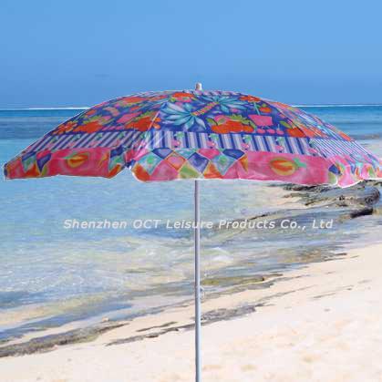 Nylon Beach Umbrella with Assorted Color (OCT-BUN17)