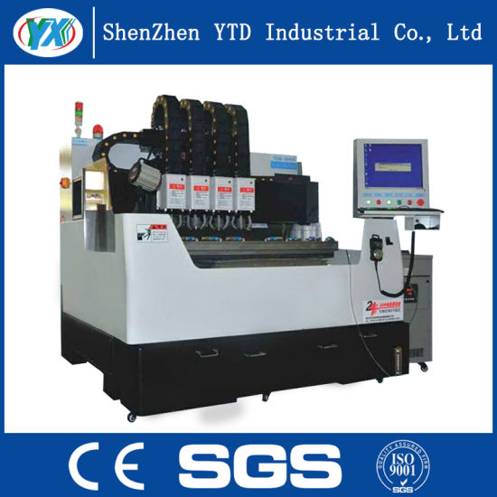 Ytd-650 4 Drillers CNC Glass Milling Engraving Machine pictures & photos
