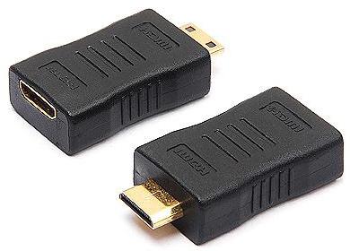 Mini HDMI M To F Adapter