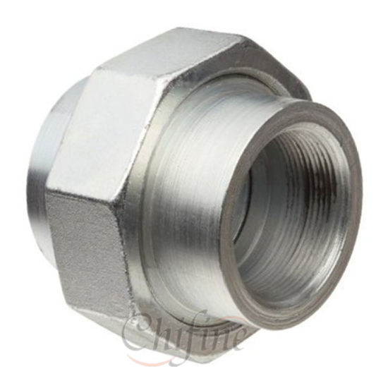 Customized High Precision Cast Galvanized Pipe Fitting