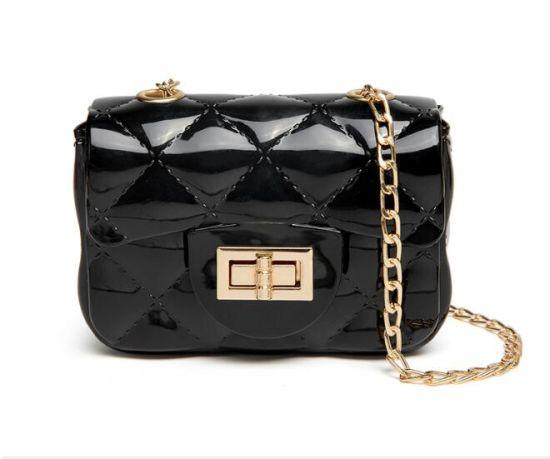 in Stock Fashion Mini Jelly Bags, PVC Jelly Handbag, Replica Handbags