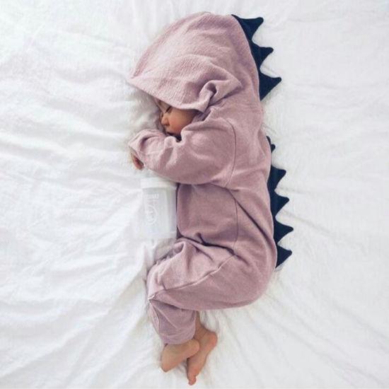 Wholesale Baby Knit Cute Dinosaur Garments Custom Children Fashion Clothes
