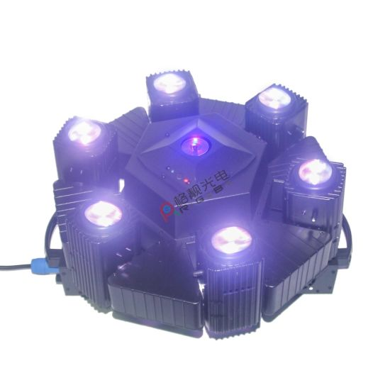 6*10W RGB Beam Moving Head with RGB Laser Disco Light DJ Lighting