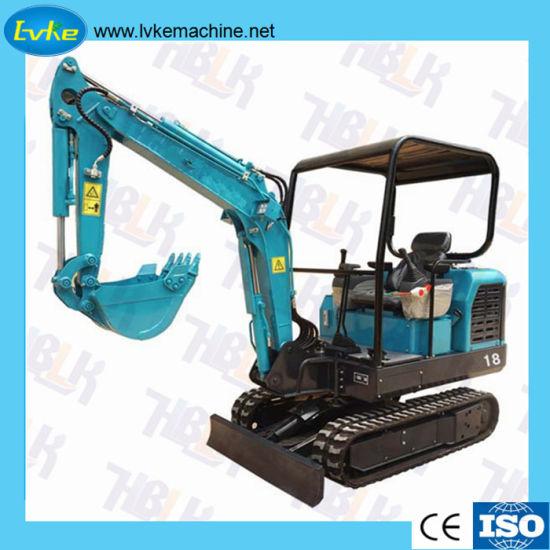 China Hot Sale Digging Machine Small Mini Excavator pictures & photos