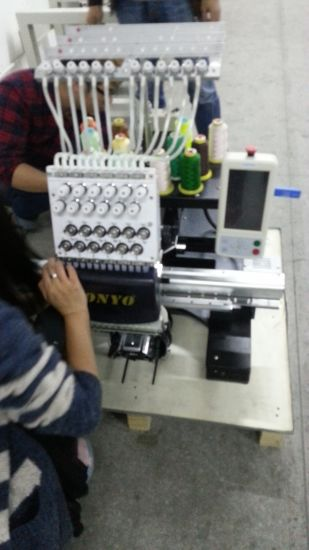 Wonyo Single Head Embroidery Machine Price Wy1201CS pictures & photos