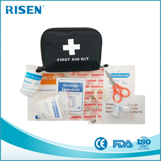 Top Sale Custom Nylon Travel Mini First Aid Kit Bag with Ce, FDA Approved pictures & photos