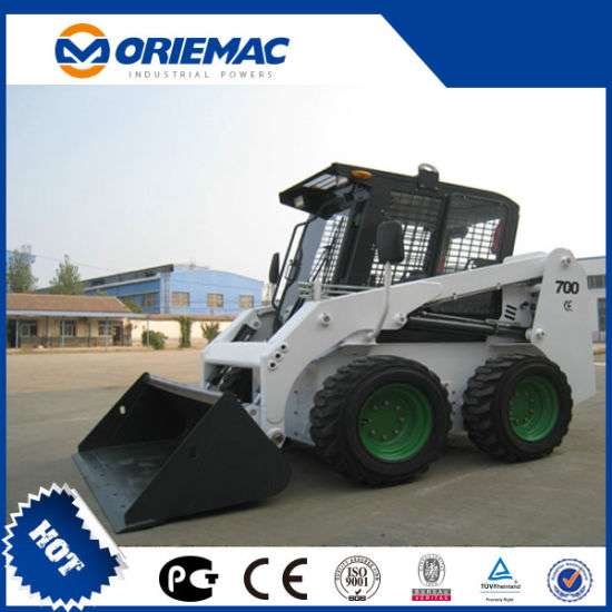 750kg GM750 Skid Steer Loader with Attachments