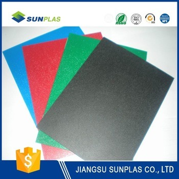 Black ABS Sheet/Board/Plate for Machine Housings, Guards, and Covers