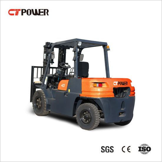 Fd4.0 Ton Forklift Truck with Chinese Engine and Side Shifter