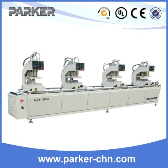 Three Head Welding Machine for PVC Plastic Vinyl UPVC Window Door pictures & photos