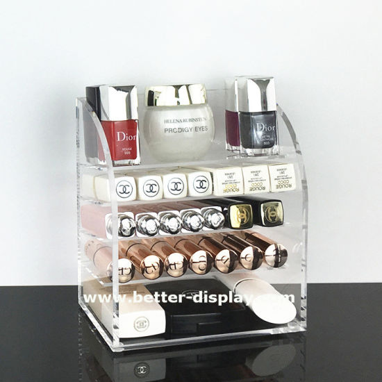 Acrylic Makeup Organizer with Drawers Wholesale Factory