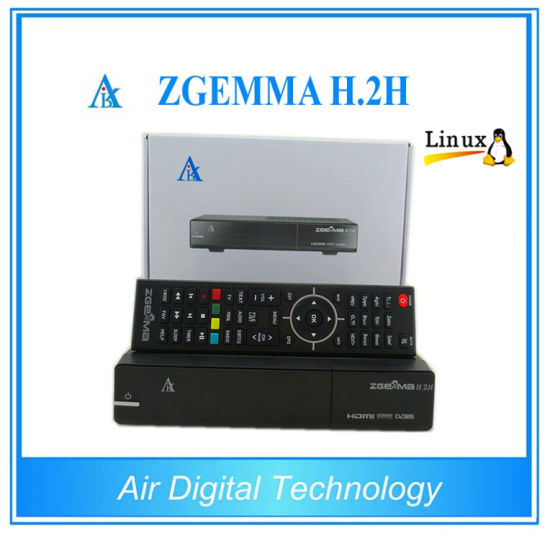 Combo Receiver Zgemma H. 2h with DVB-S2 + DVB-T2/C Hybrid Tuner pictures & photos