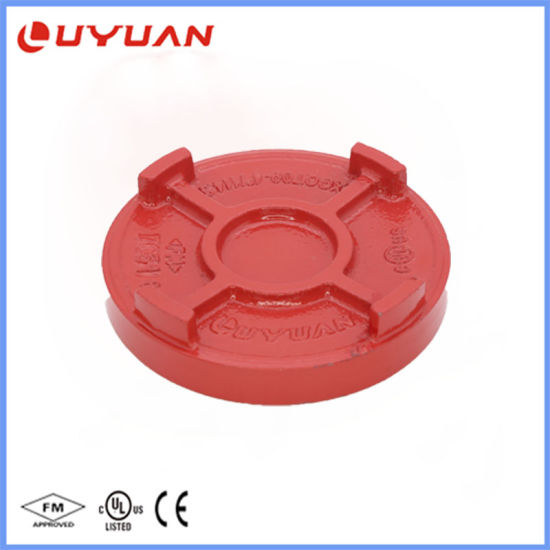Ductile Iron Grooved End Cap for Fire Sprinkler System pictures & photos