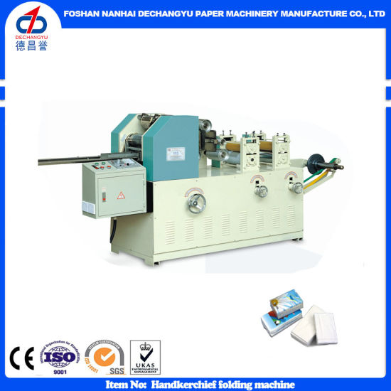 Ce Certification Handkerchief Pocket Tissue Paper Making Machine pictures & photos