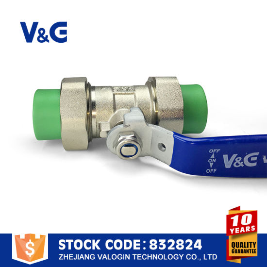 Stainless Steel Sanitary PPR Ball Valve (VG-A76011) pictures & photos