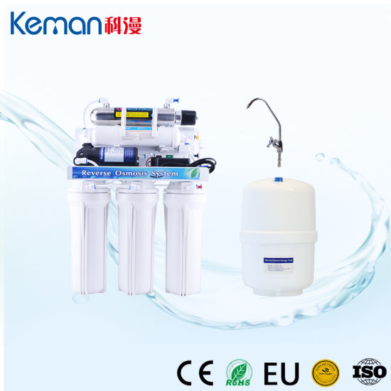 6 Stage Direct Drink RO Water System Water Filter with Ultraviolet Sterilizer UV Lamp