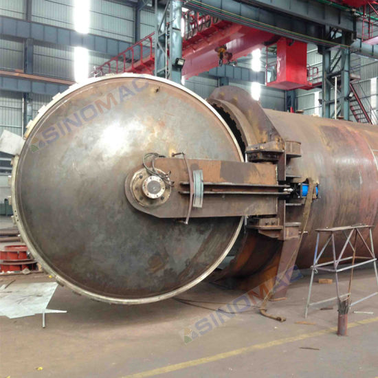 2850X6000mm Ce Certified Industrial Glass Laminating Pressure Vessel (SN-GBF2860) pictures & photos