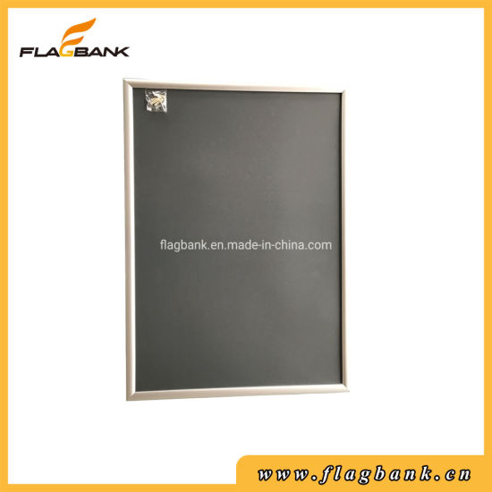 Silver Aluminium Advertising Photo/Picture/Snap/Poster/Clip Display Frame