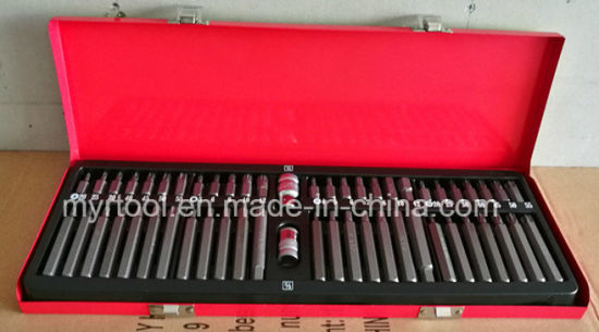 54PCS Professional H10 Bits Set in Metal Case (FY1054B1) pictures & photos
