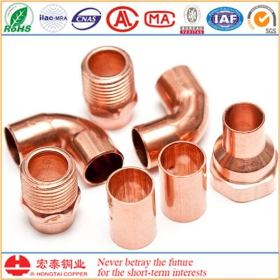 Refrigeration Copper Fittings with ANSI B16.22 pictures & photos