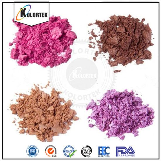 Mica Titanium Dioxide Violet Pearl Pigment