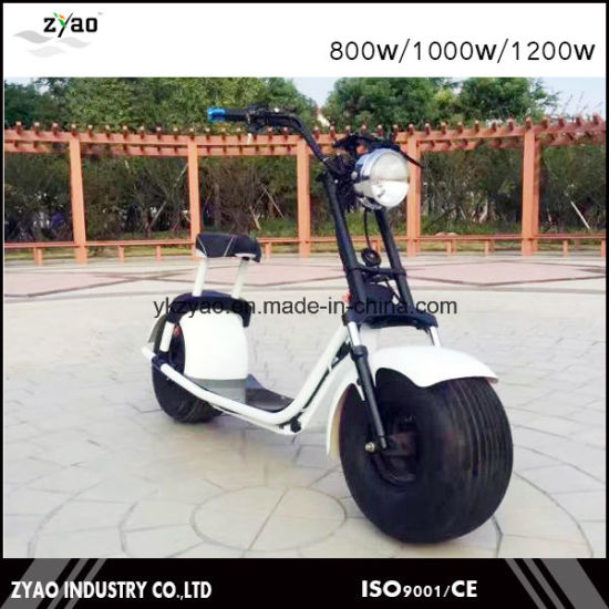 Newest 1000W/1500W Big Wheel Citycoco Electric Scooter for Adults 2 Wheels pictures & photos
