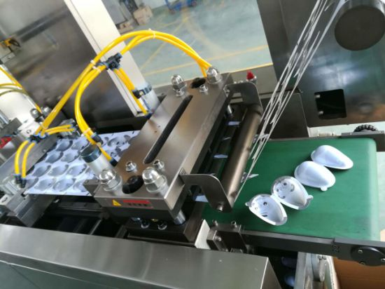 Auto Blister PVC Forming Sealing and Packing Machine for Lipsticks/Perfumes pictures & photos
