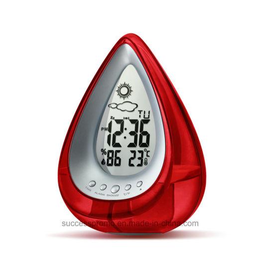 Novelty Gift Eco Friendly Multifunction Water Power Desk Clock